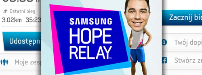 Pomagamy: Samsung Hope Relay