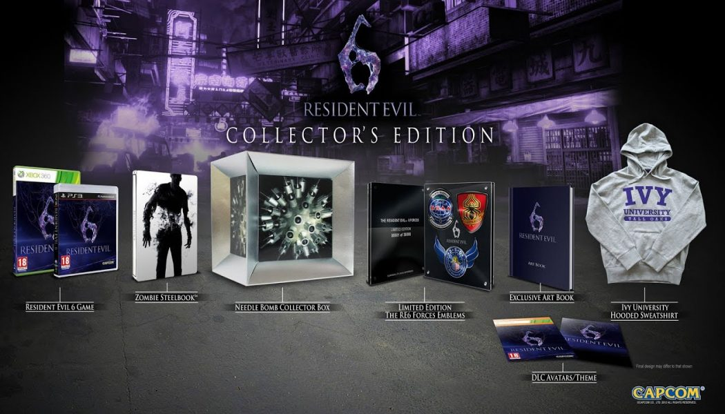 Resident Evil 6 Collector's Edition (+press pack bonus)