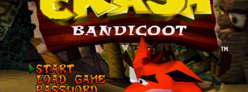 Crash Bandicoot na żywo