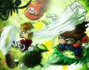 Mario vs. Rayman by http://sebastianvonbuchwald.deviantart.com