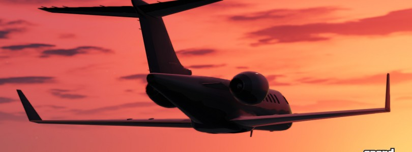 7 minut lotu wokół świata GTA V