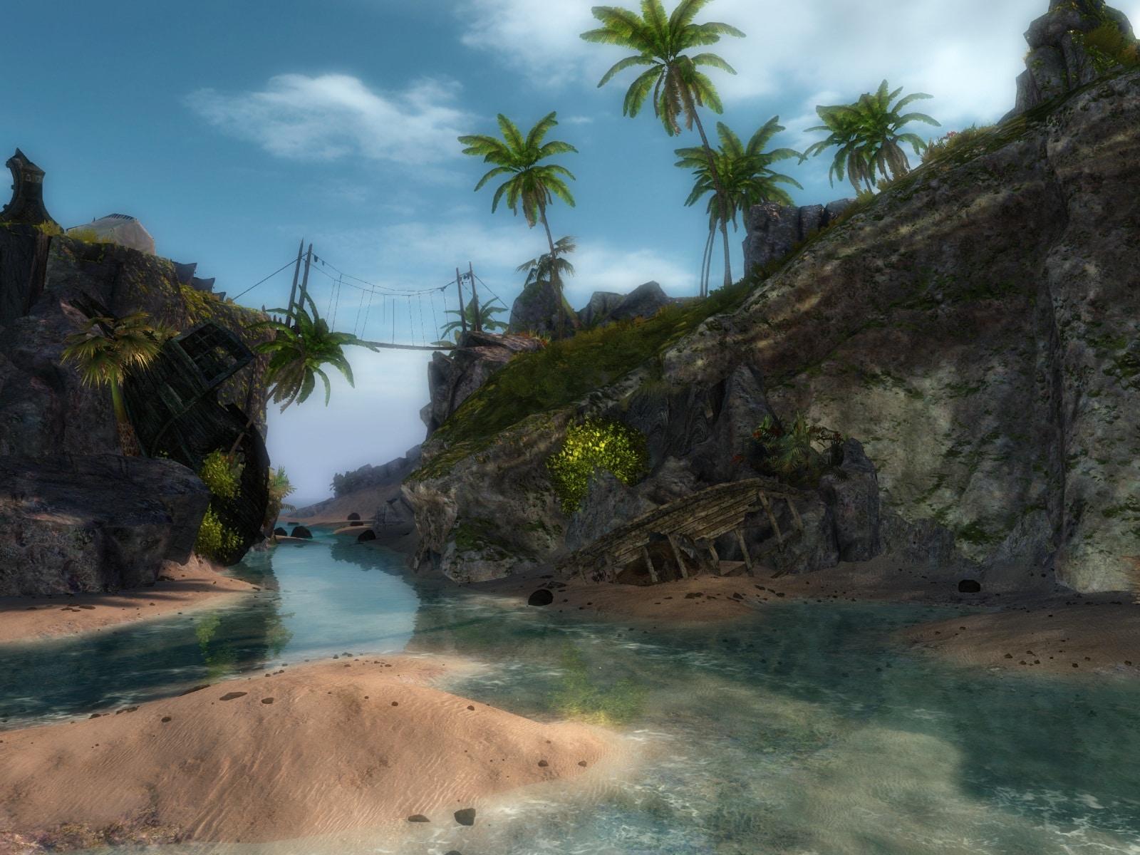 Guild Wars 2 beach