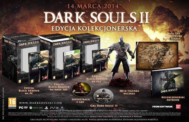 Dark souls 2 edycja kolekcjonerska