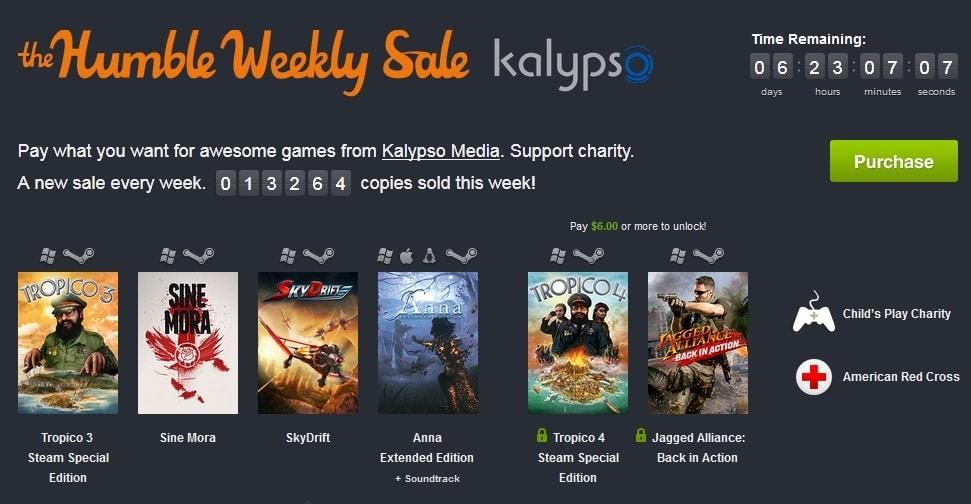 weekly sale kalypso
