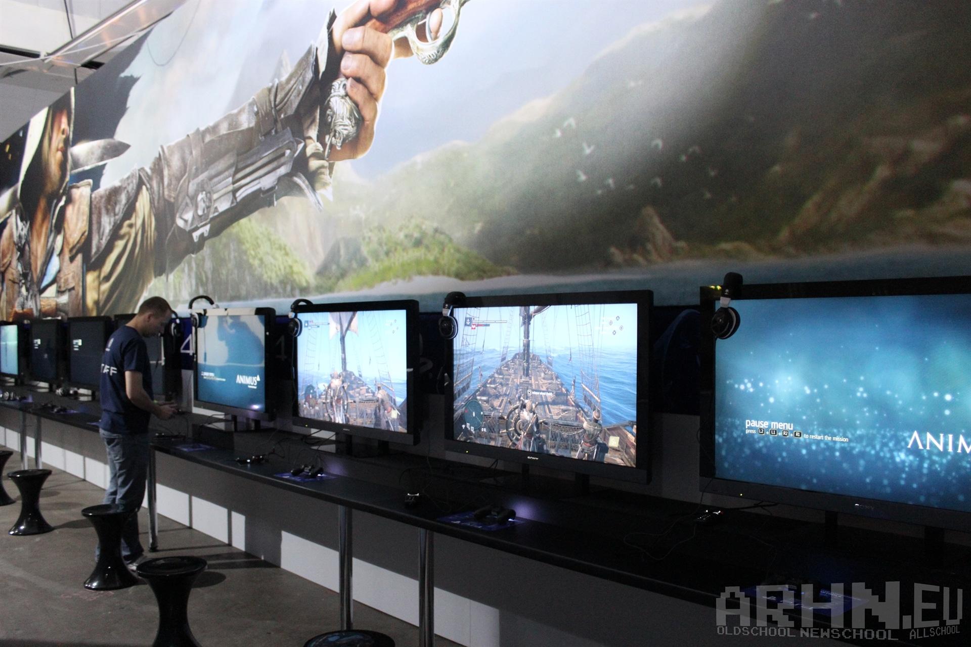Assassin's Creed IV na Eurogamer Expo