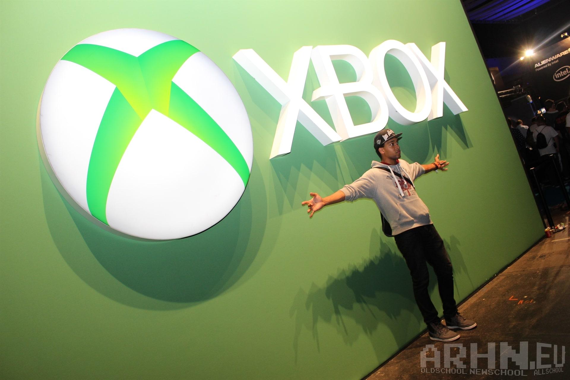 Xboksowa ściana na Eurogamer Expo