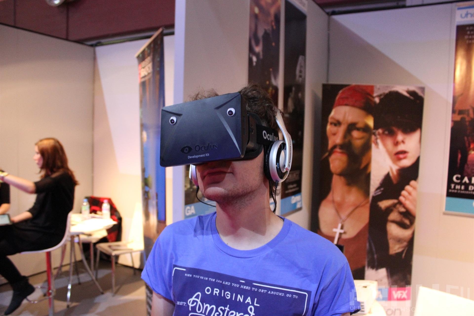 Oculus Rift na Eurogamer Expo
