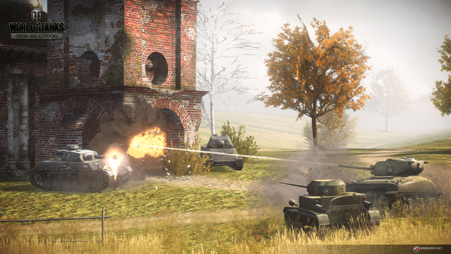 Screen z World of Tanks