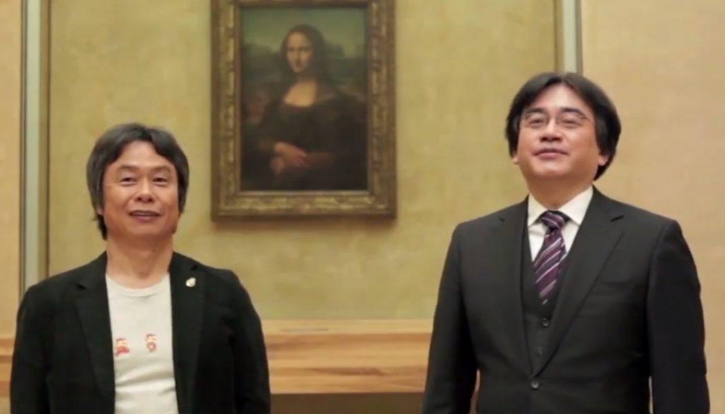 Wycieczka po Luwrze z Nintendo