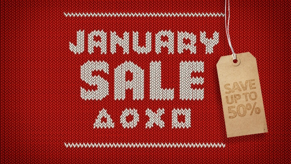 January PS Store sale