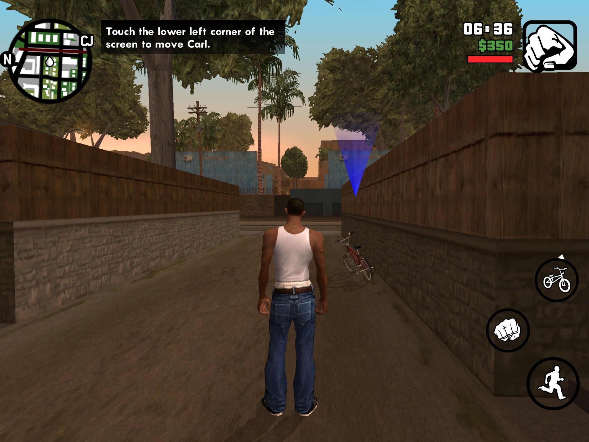 GTA: San Andreas (iOS)