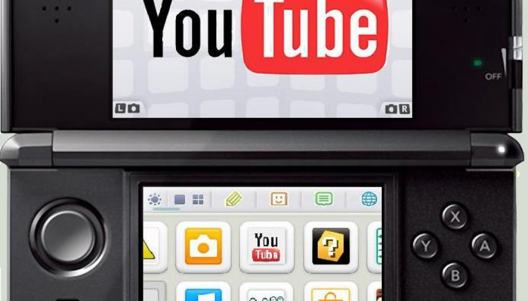 3DS YOUTUBE