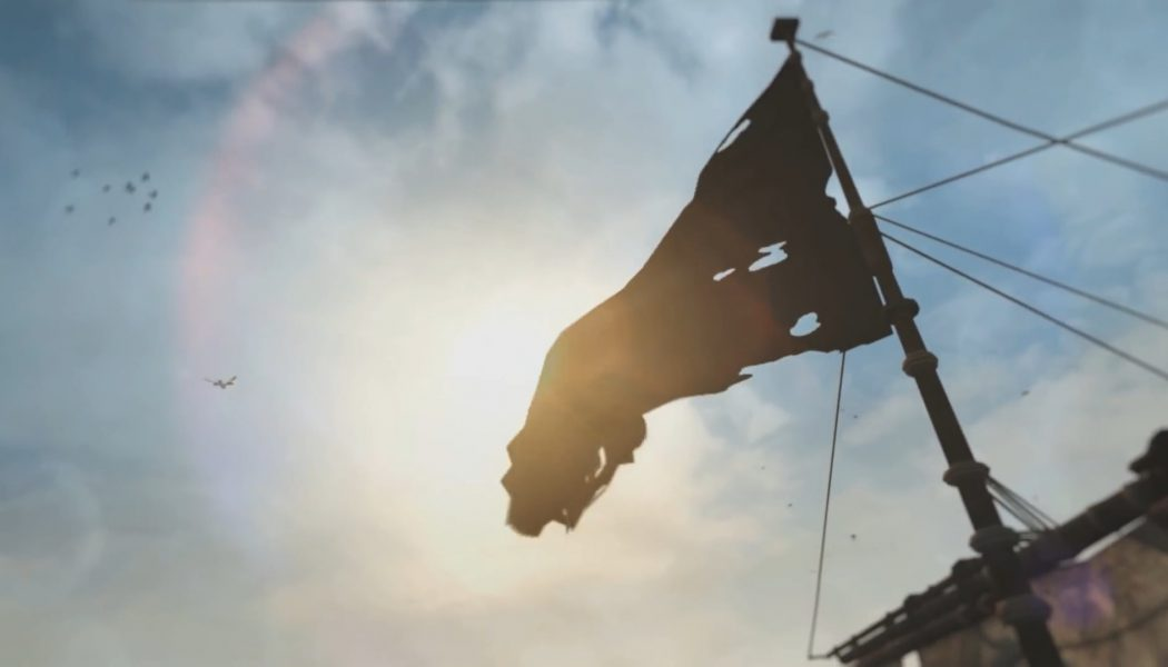 Assassin's Creed 4: Black Flag z efektami NVIDIA PhysX