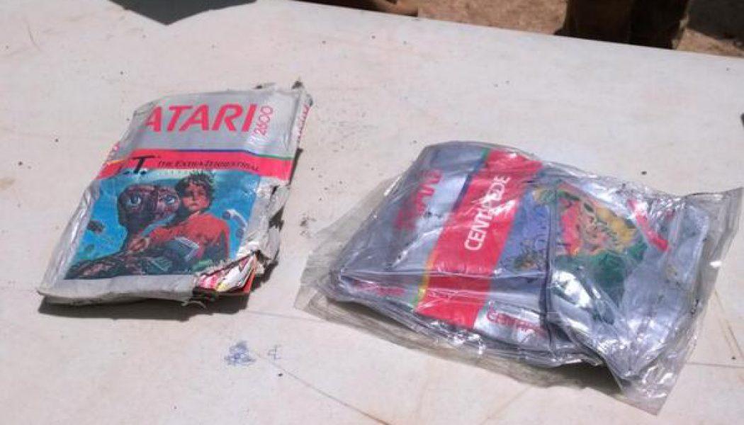 Odnaleziono legendarne, zakopane kartridże gry E.T. [Aktualizacja]