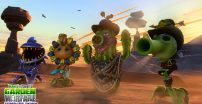 Zrzut ekranu z Plants vs. Zombies Garden Warfare z dodatkiem Zomboss Down.