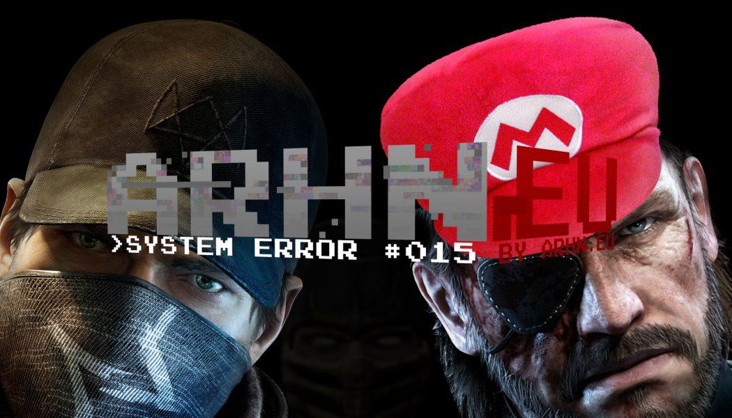 System Error #015