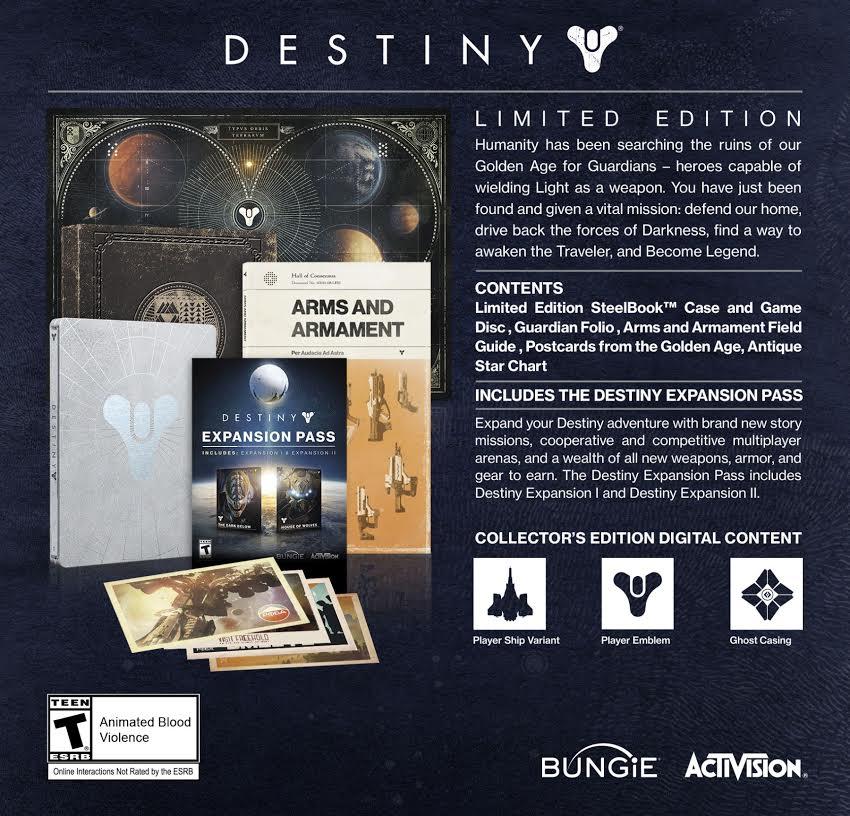 Destiny - Edycja Limitowana