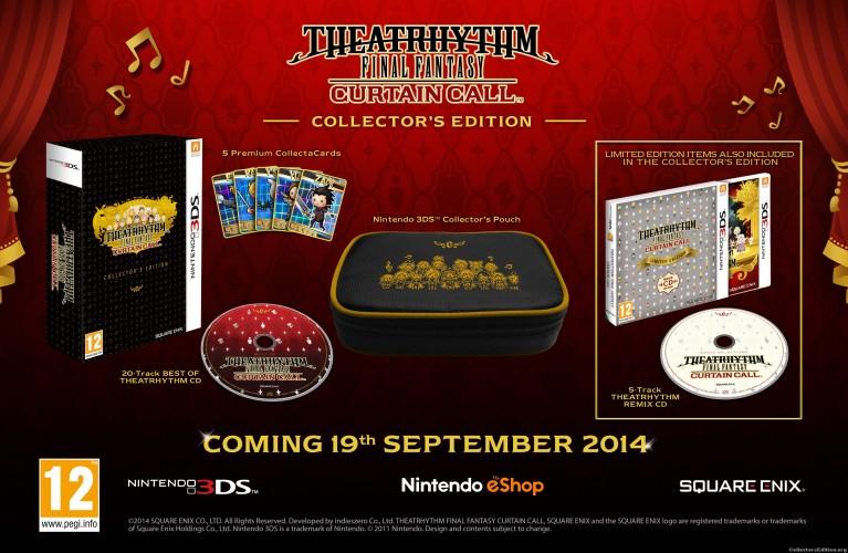 Theatrhythm Final Fantasy: Curtain Call Collector's Edition