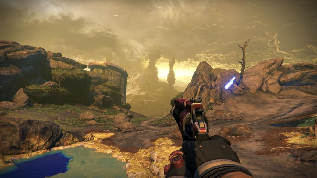 Screen z Destiny