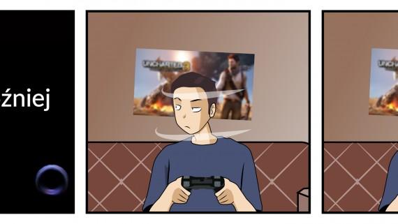 Uncharted 3 - nastroje gracza.