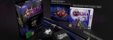 The Legend of Zelda: Majora's Mask 3D Special Edition – rozpakowanie