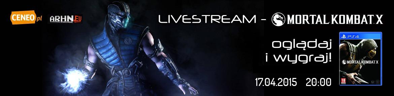Livestream Mortal Kombat X