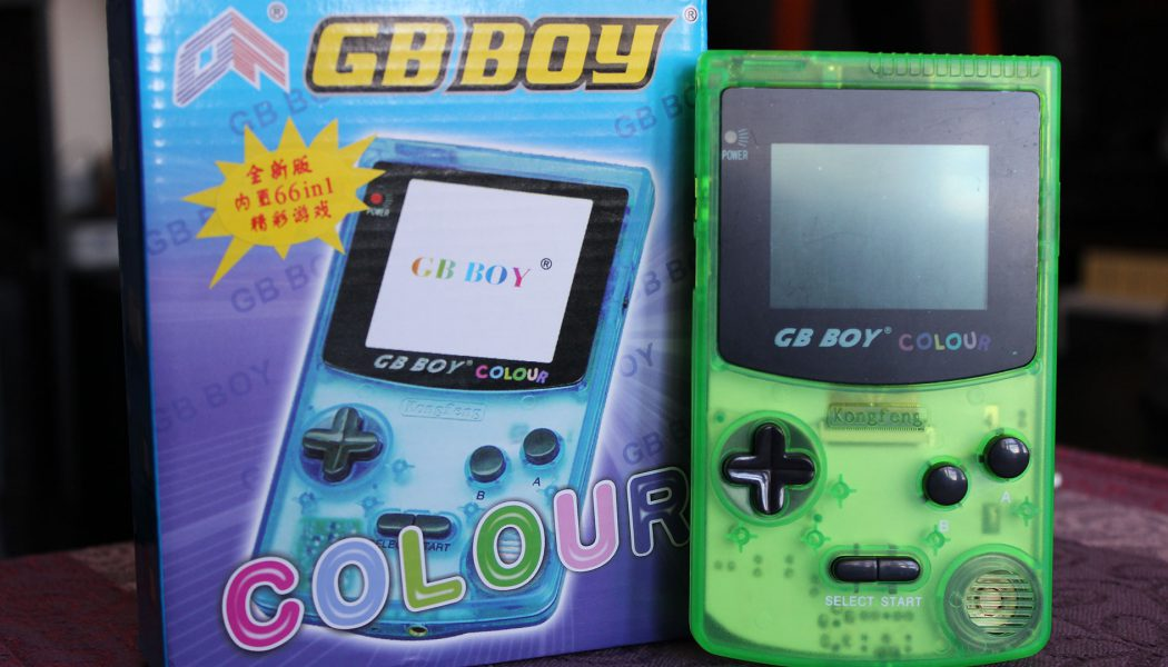 Konsola GB Boy Colour