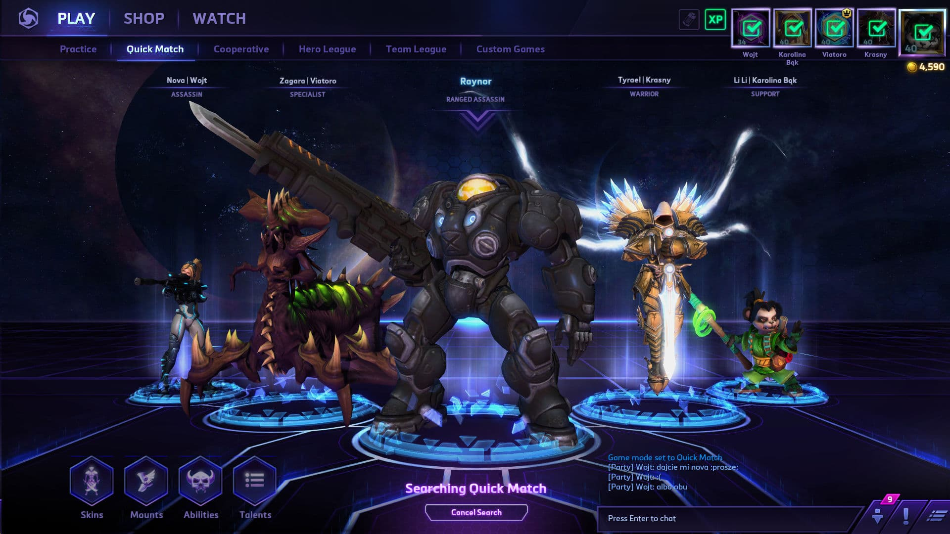 Screen z gry Heroes of the Storm