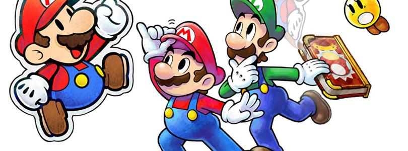 Mario & Luigi: Paper Jam Bros. — Podgląd #084