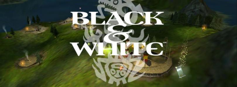 Black & White – retro