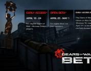Beta trybu Multiplayer Gears of War 4 wystartuje już 18 kwietnia