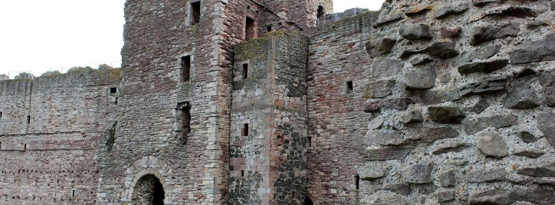 Tantallon Castle, Szkocja | arhn.edu