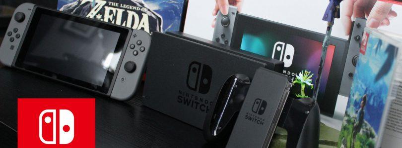Nintendo Switch (+Zelda: BotW) — rozpakowanie