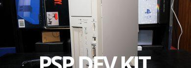 PSP: Zestaw Developerski (DTP-H1500) – rzut oka