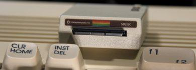SD2IEC — Czytnik kart SD dla Commodore 64