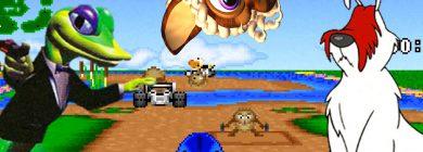 Zapomniane zwierzaki z gier wideo