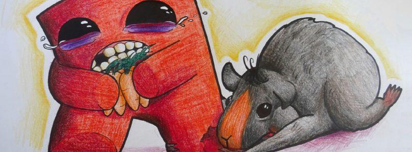 Rozwiązanie konkursu Super Meat Boy vs Grunio