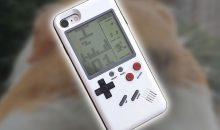 Obudowa do smartfona z wbudowanym Tetrisem