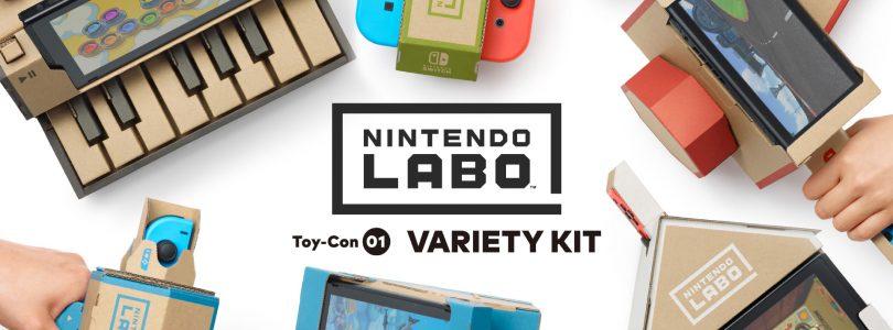 Nintendo Labo Variety Kit — w tym szaleństwie jest metoda!