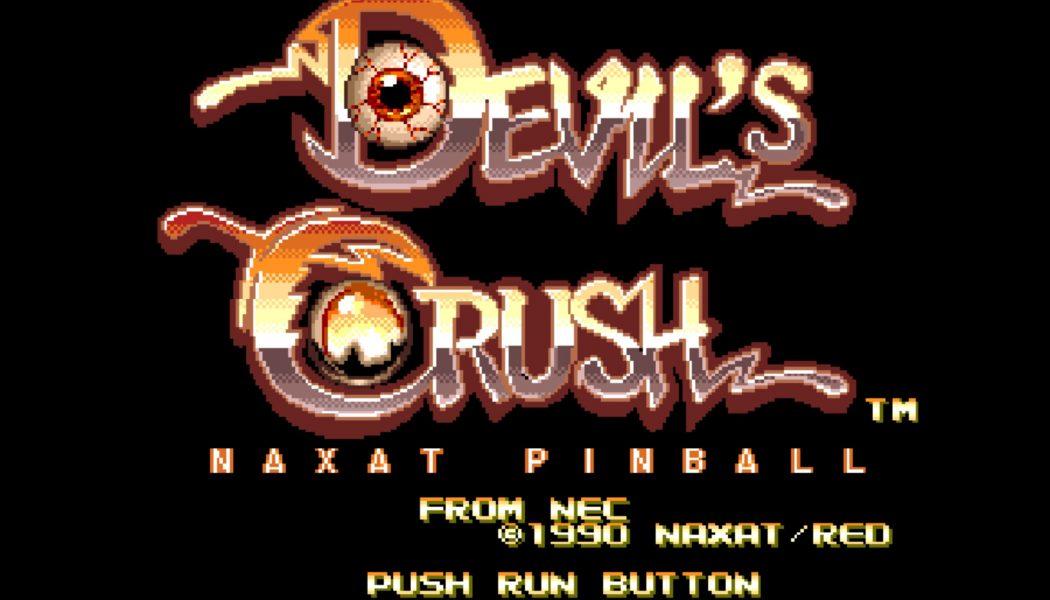 Brzydki pinball z ubiegłego wieku – seria Crush