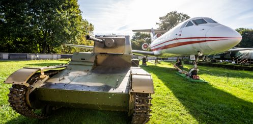Spotkanie miłośników World of Tanks w Warszawie