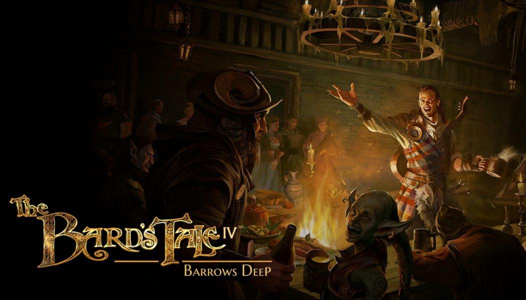 The Bard's Tale IV – Barrows Deep – Recenzja