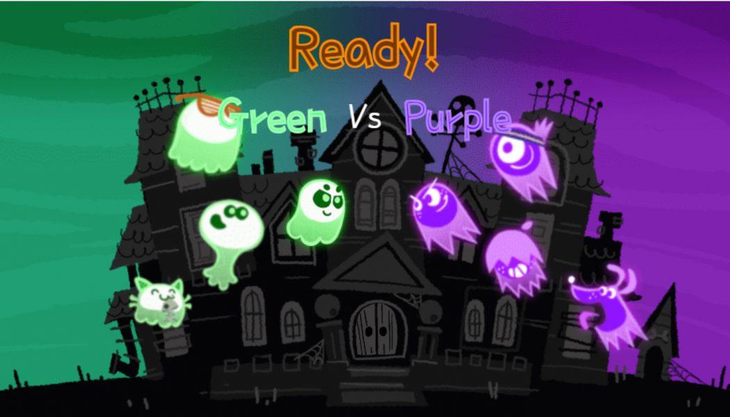Great Ghost Duel, czyli Google Doodle nie zawodzi w Halloween!