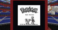 Pokemon Red odtworzone w Minecrafcie?