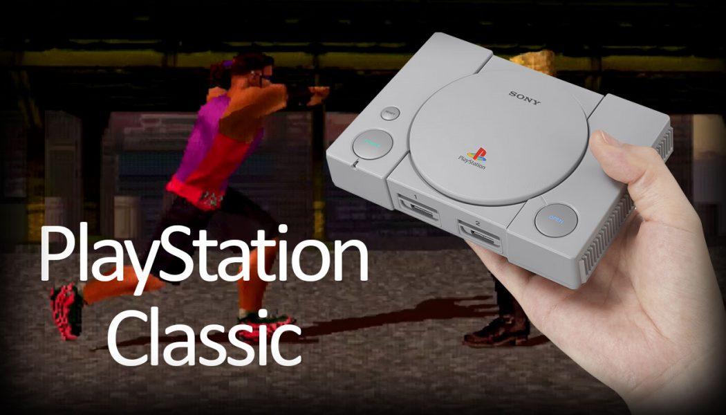 PlayStation Classic – zrobieni na szaro