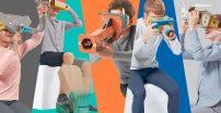Nintendo Labo VR Kit — wirtualna rzeczywistość z kartonu