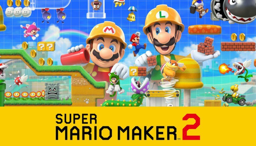 Super Mario Maker 2 Nintendo Direct odbędzie się w ten czwartek