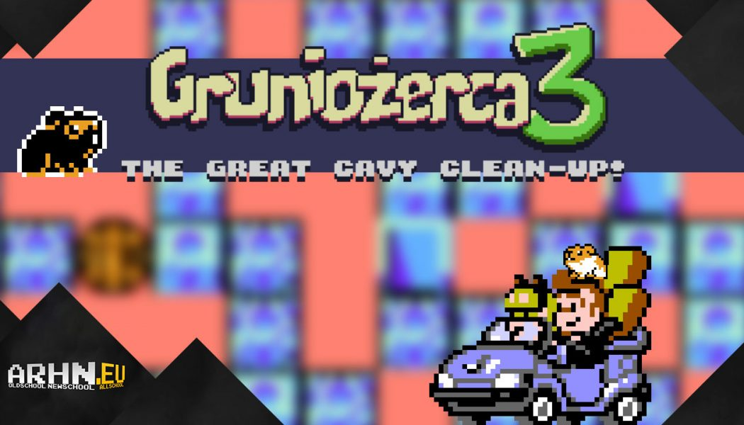 Gruniożerca 3: The Great Cavy Clean-Up!