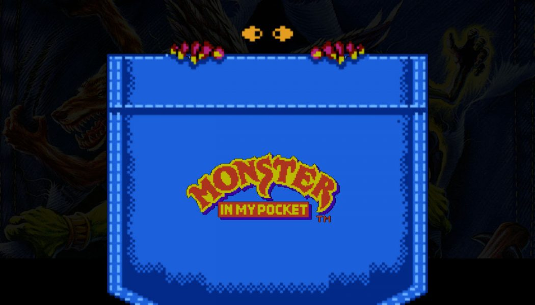 Monster in my Pocket (Batman & Flash) — Retro
