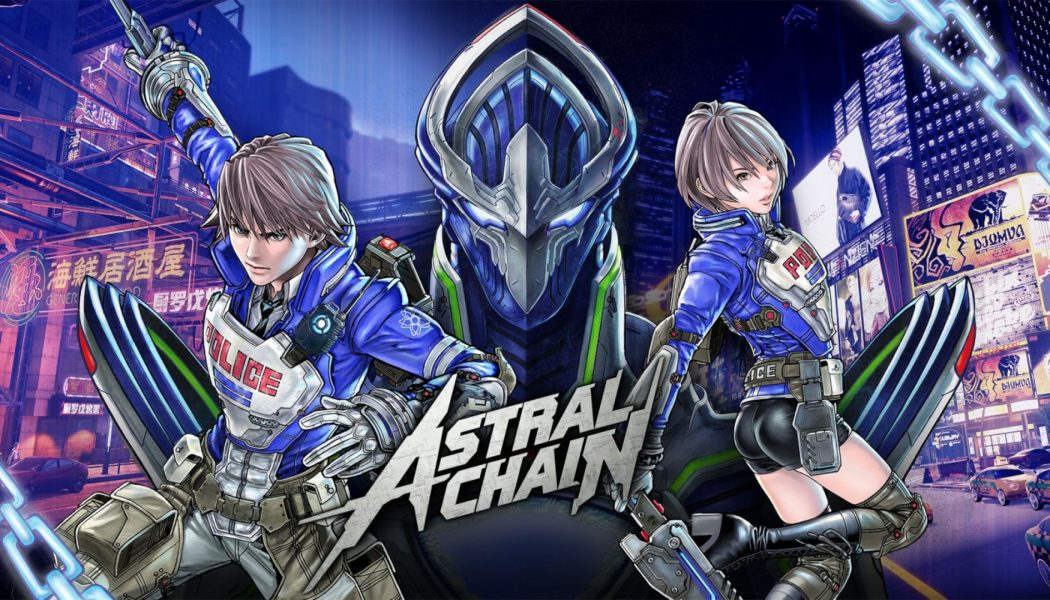 Astral Chain na długim gameplayu